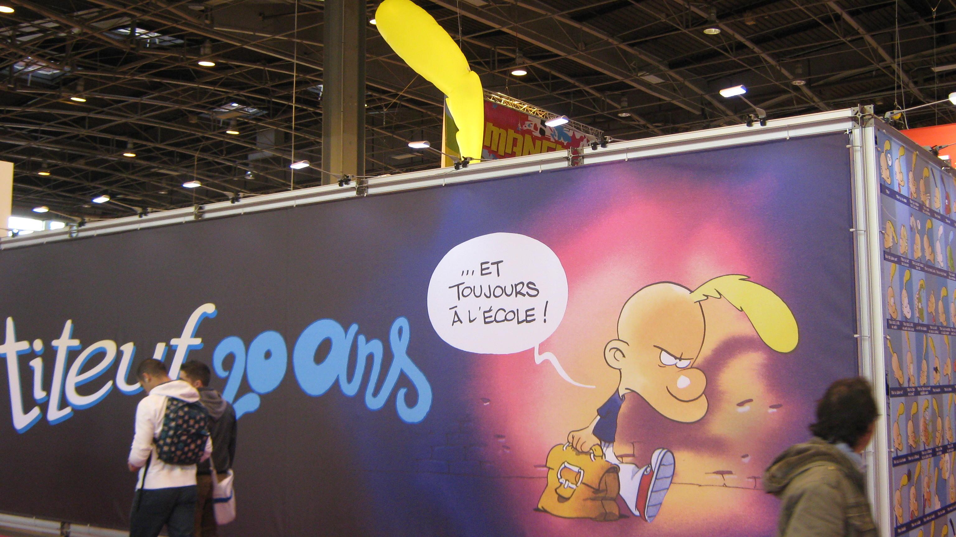 90  U00e9l U00e8ves Au Salon Du Livre Porte De Versailles