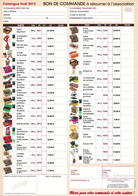 catalogue alex olivier noel 2018 pdf Vente de chocolats Noël 2013 !   Collège Jules Ferry Auneau catalogue alex olivier noel 2018 pdf