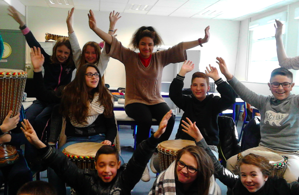 Percussions en 6b coll ge jules ferry auneau for College auneau